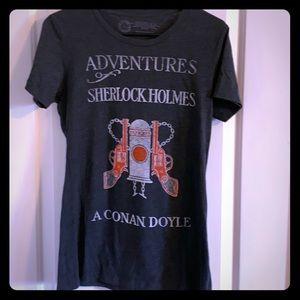 Our of print Sherlock Holmes t shirt